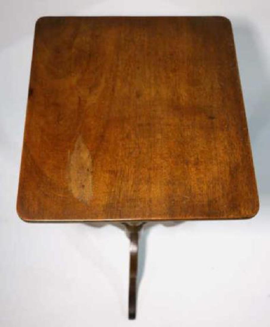 AMERCIAN ANTIQUE WALNUT SIDE TABLE - 3