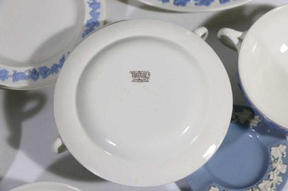 "ENGLISH ""EMBOSSED QUEENS WARE"" WEDGWOOD SERVICE - 6"