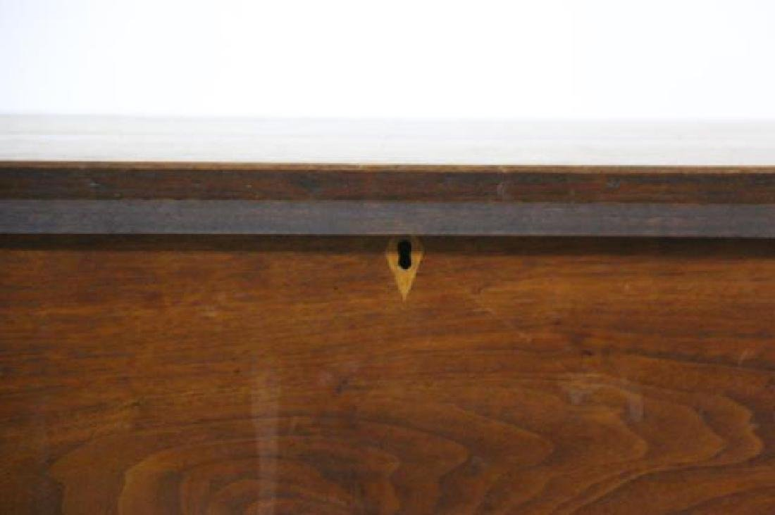 AMERICAN SOUTHERN ANTIQUE DOVETAILED BLANKET CHEST - 3