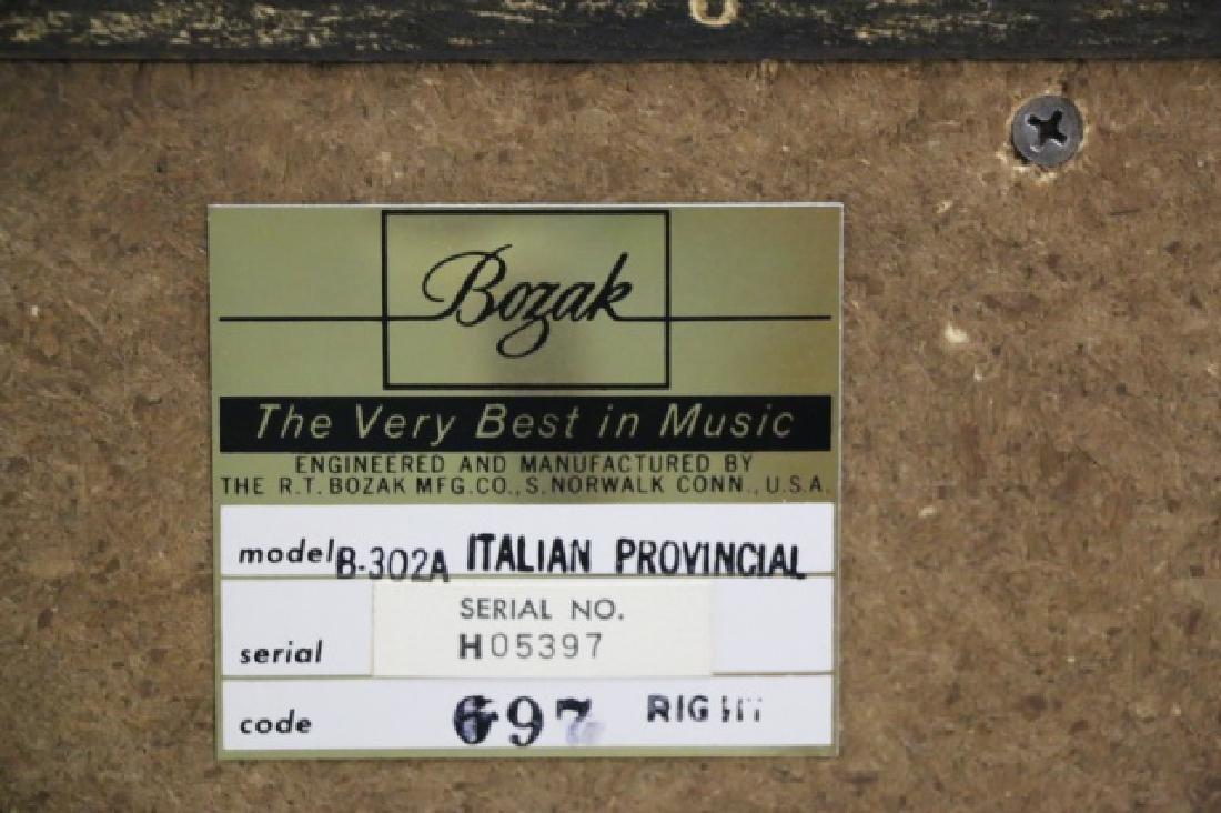 BOZAK B-302A VINTAGE ITALIAN PROVINCIAL SPEAKERS - 2