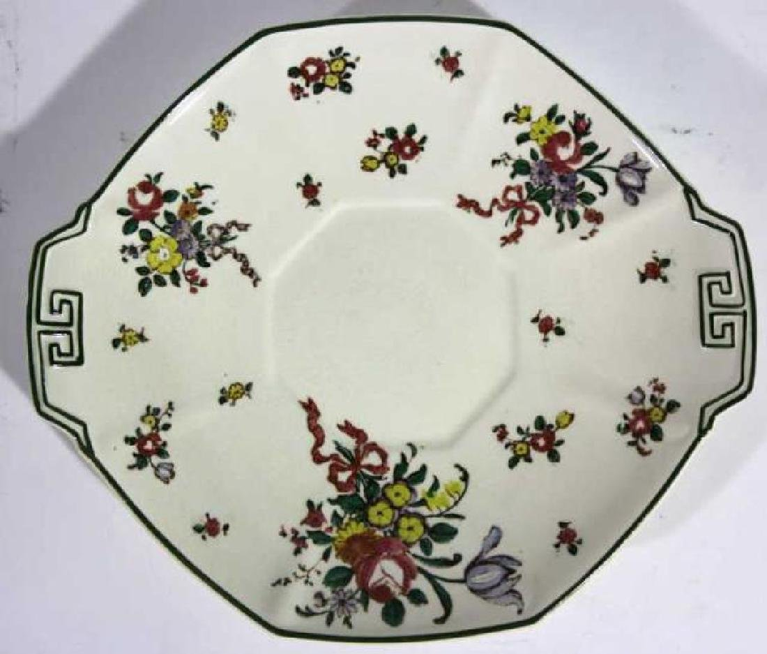 "ROYAL DAULTON ""OLD LEEDS SPRAY"" CABINET PLATE"