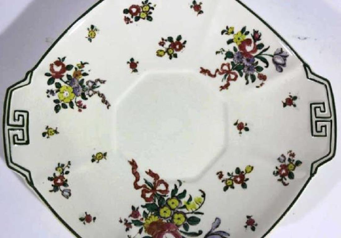 "ROYAL DAULTON ""OLD LEEDS SPRAY"" CABINET PLATE - 2"