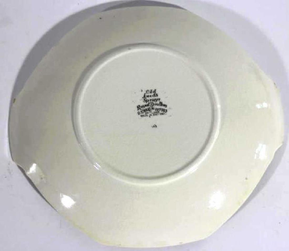 "ROYAL DAULTON ""OLD LEEDS SPRAY"" CABINET PLATE - 3"