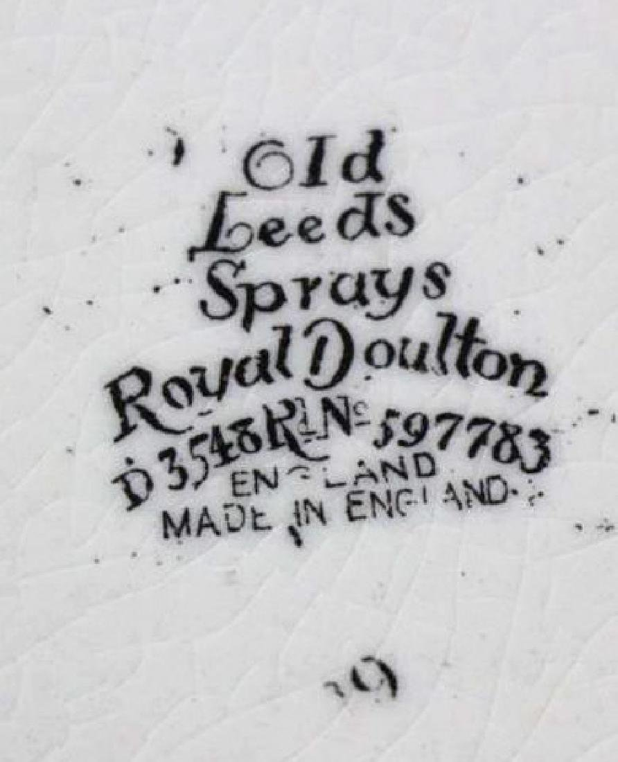 "ROYAL DAULTON ""OLD LEEDS SPRAY"" CABINET PLATE - 4"