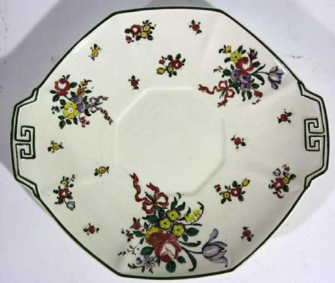 "ROYAL DAULTON ""OLD LEEDS SPRAY"" CABINET PLATE - 5"