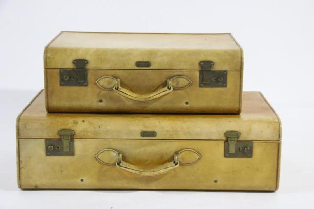 HARTMAN ANTIQUE LUGGAGE SET