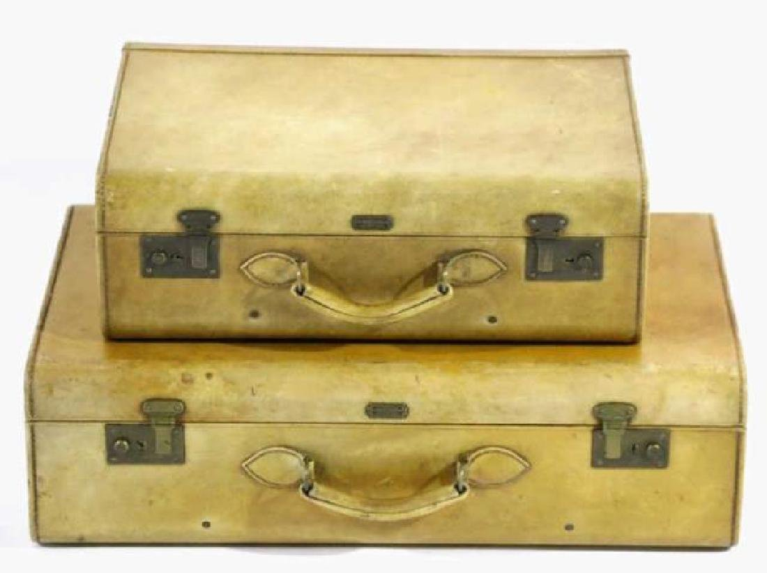 HARTMAN ANTIQUE LUGGAGE SET - 5