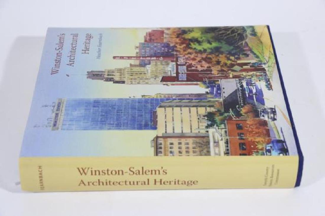 AUTOGRAPHED WINSTON SALEM ARCHITECTURAL BOOK
