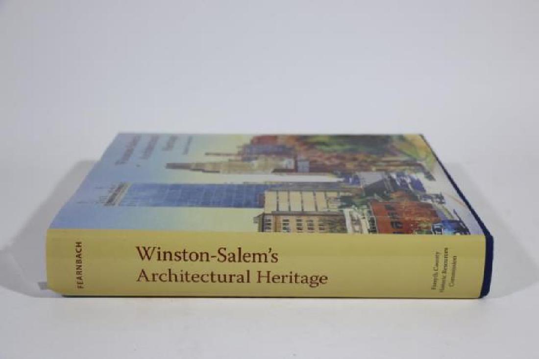 AUTOGRAPHED WINSTON SALEM ARCHITECTURAL BOOK - 2