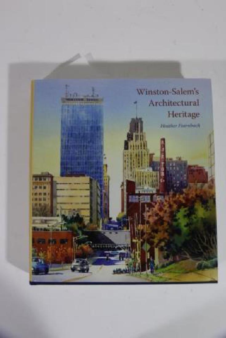 AUTOGRAPHED WINSTON SALEM ARCHITECTURAL BOOK - 3