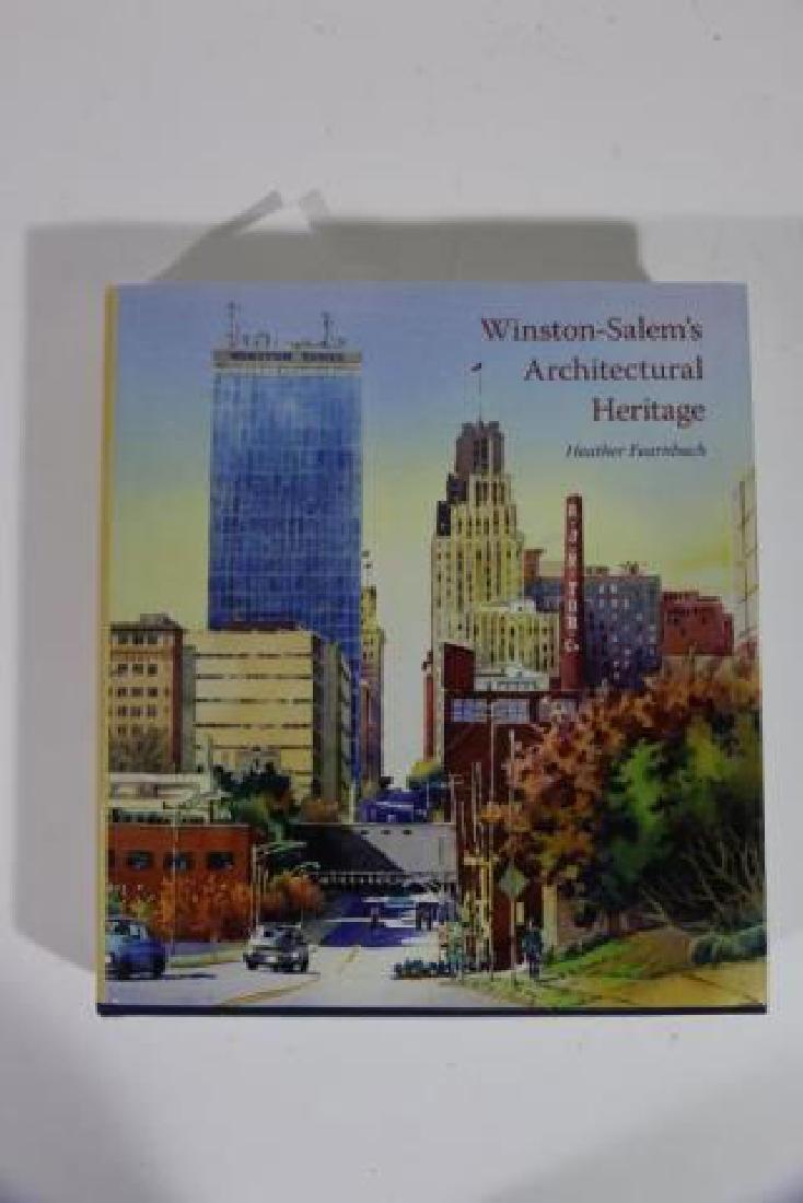 AUTOGRAPHED WINSTON SALEM ARCHITECTURAL BOOK - 4