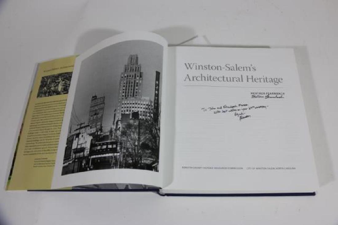 AUTOGRAPHED WINSTON SALEM ARCHITECTURAL BOOK - 5