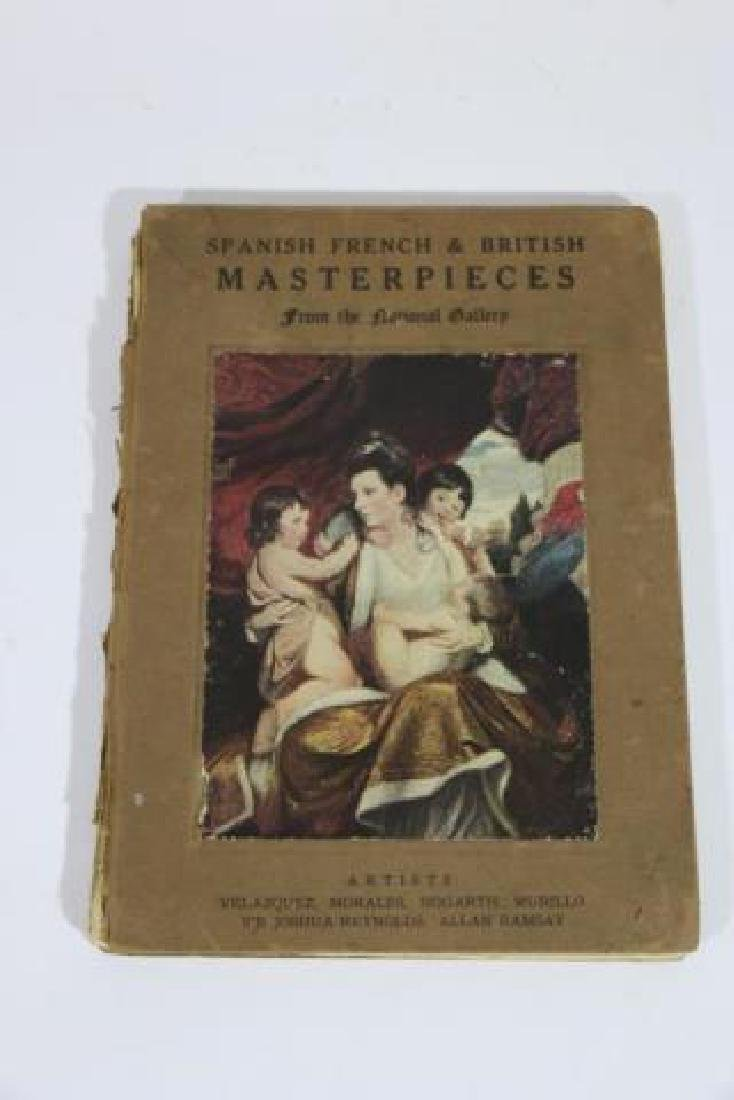 NATIONAL GALLERY ANTIQUE ART REFERENCE BOOK