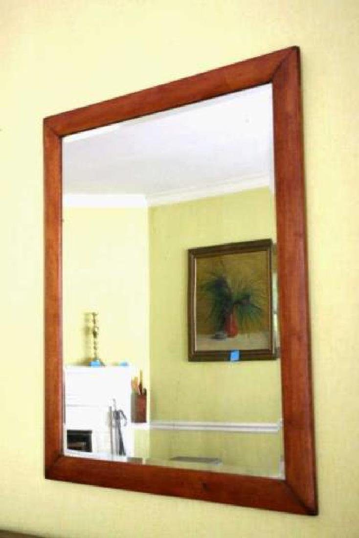 AMERICAN SOUTHERN  ANTIQUE BEVELED MIRROR