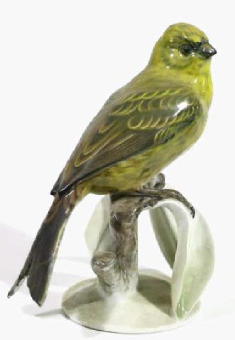 "ROSENTHAL ""GOLDAMMER"" PORCELAIN BIRD SCULPTURE"