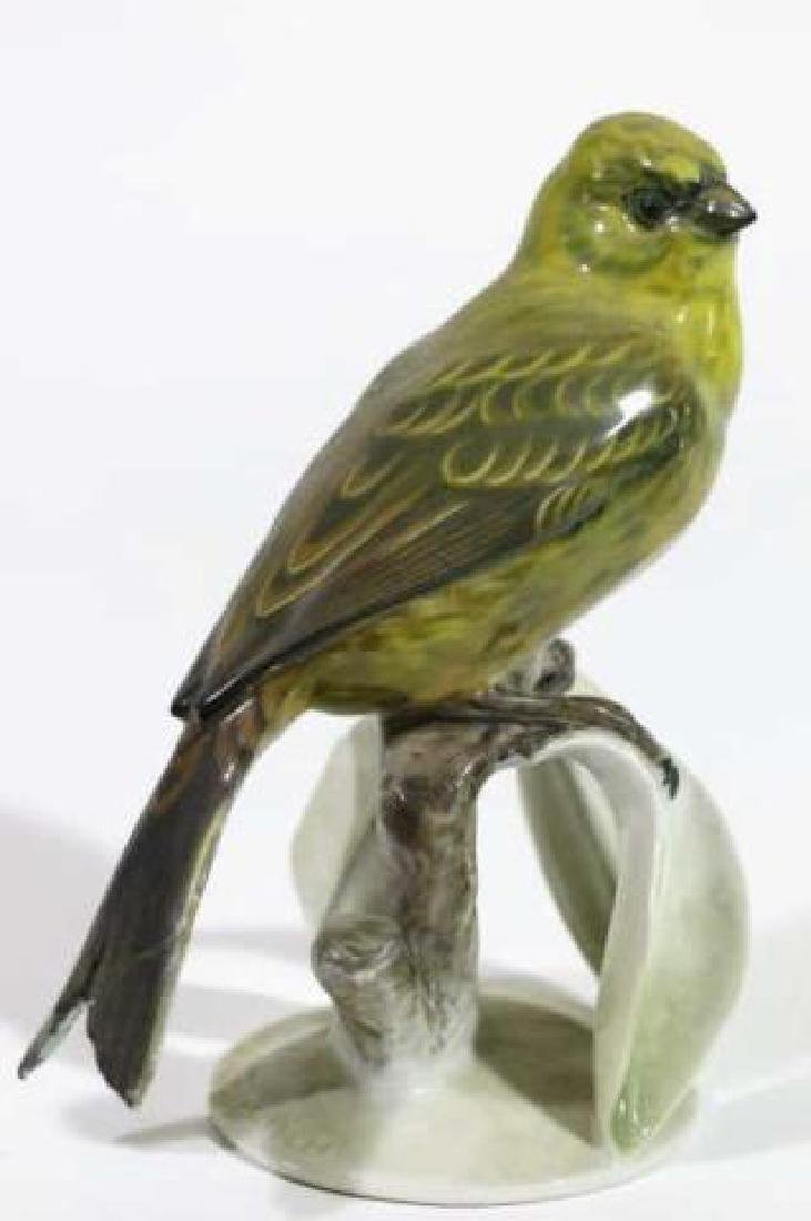 "ROSENTHAL ""GOLDAMMER"" PORCELAIN BIRD SCULPTURE - 2"