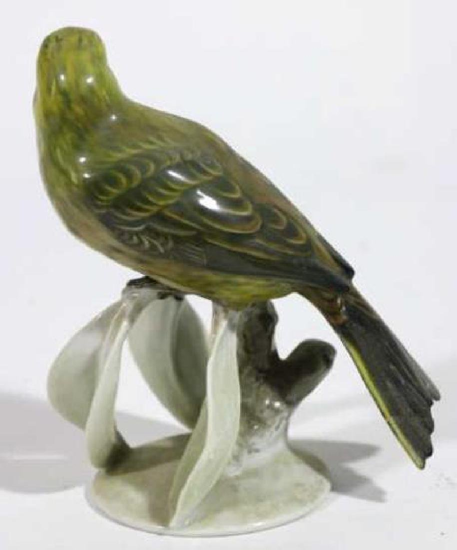 "ROSENTHAL ""GOLDAMMER"" PORCELAIN BIRD SCULPTURE - 3"