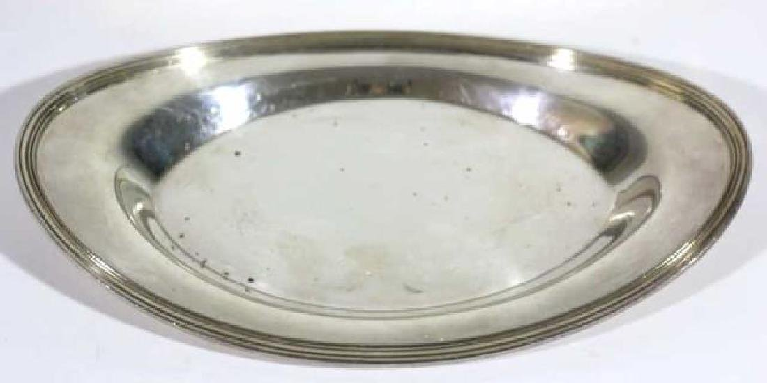 FINE SILVER BREAD PLATE GROUPING - 2