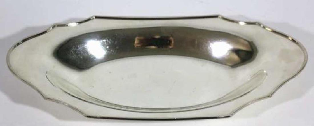 FINE SILVER BREAD PLATE GROUPING - 3