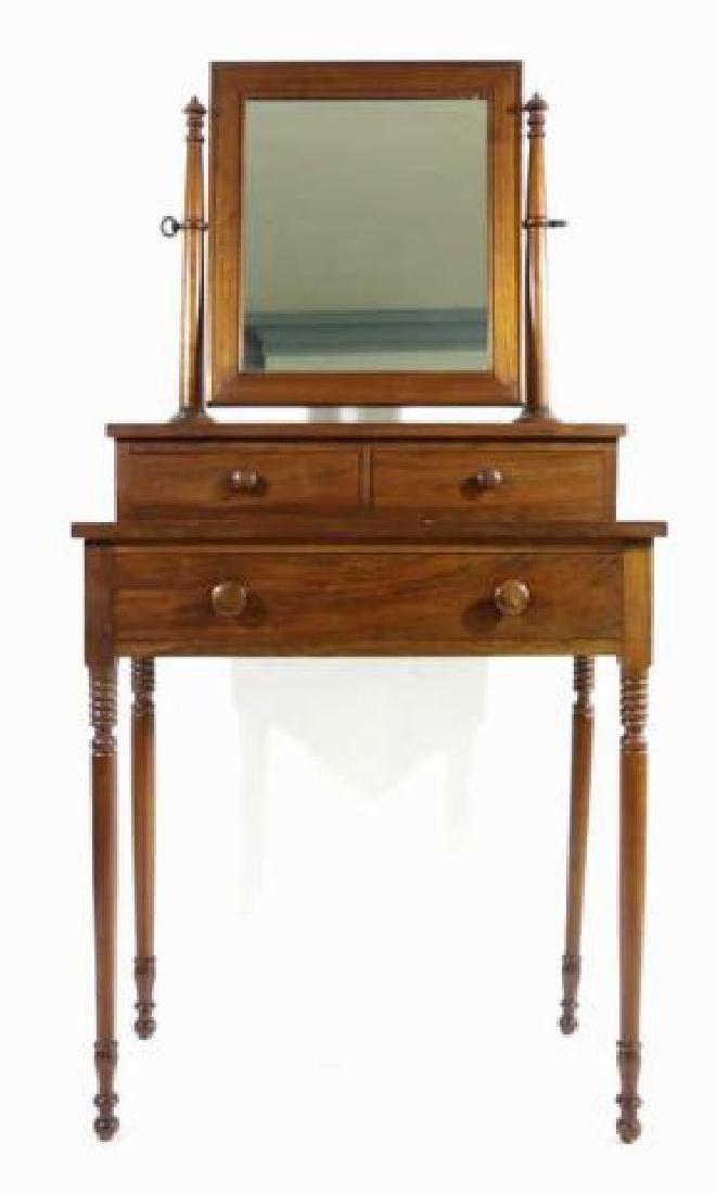 AMERICAN SOUTHERN ANTIQUE SHAVING / VANITY STAND