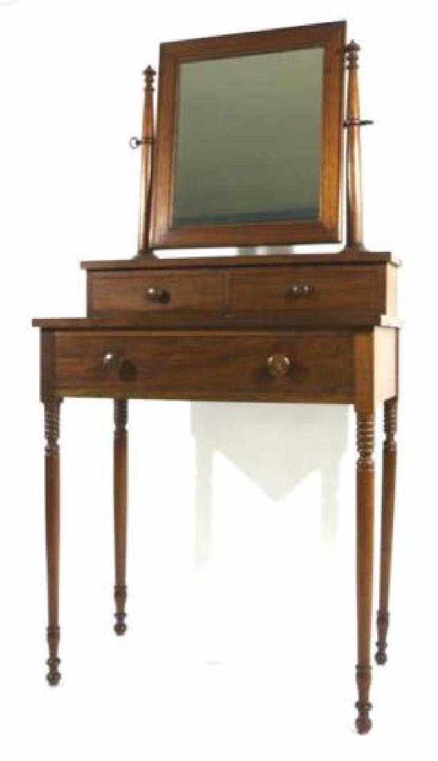 AMERICAN SOUTHERN ANTIQUE SHAVING / VANITY STAND - 4