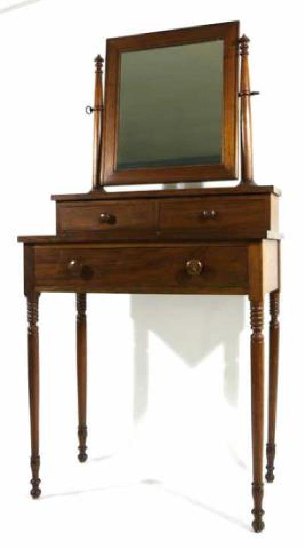 AMERICAN SOUTHERN ANTIQUE SHAVING / VANITY STAND - 5