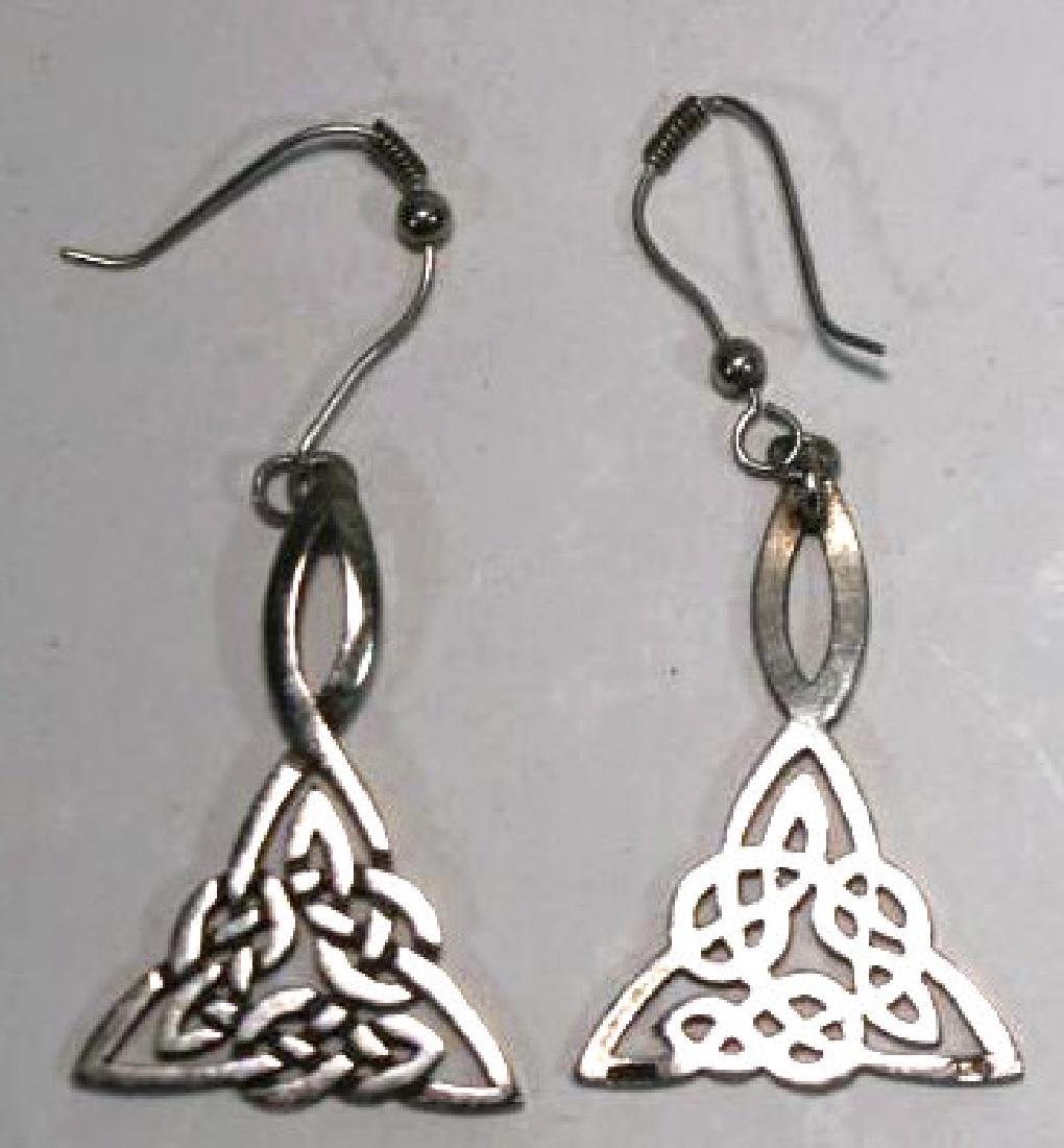 STERLING SILVER EARRING GROUPING - 2