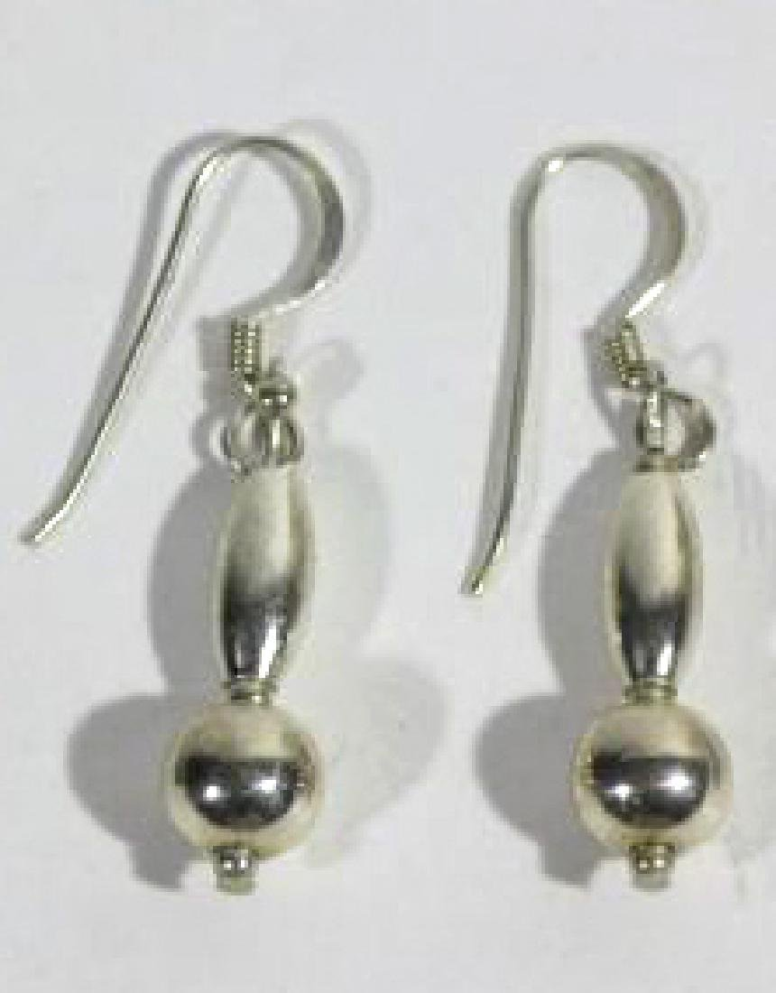 STERLING SILVER EARRING GROUPING - 4
