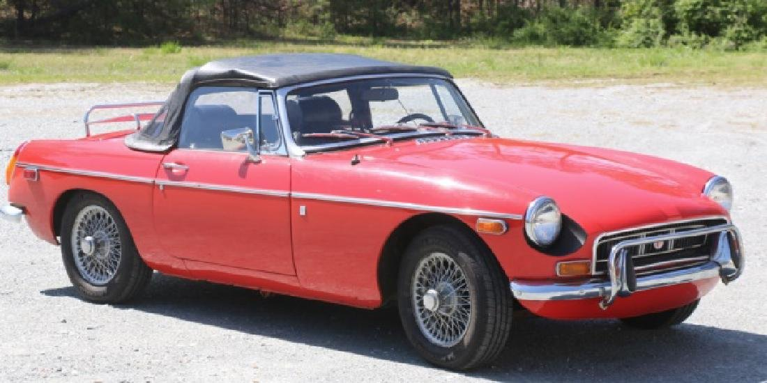 1972 MGB CLASSIC CONVERTIBLE ROADSTER