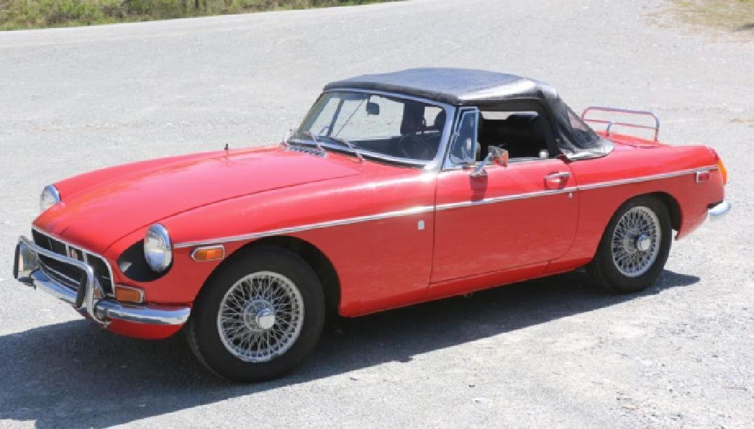 1972 MGB CLASSIC CONVERTIBLE ROADSTER - 4