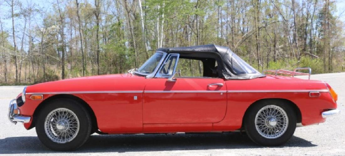 1972 MGB CLASSIC CONVERTIBLE ROADSTER - 5