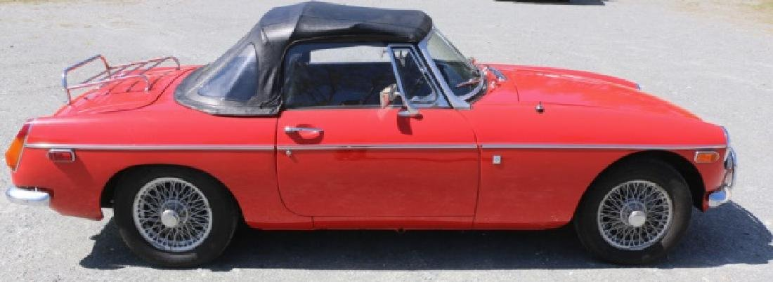 1972 MGB CLASSIC CONVERTIBLE ROADSTER - 7