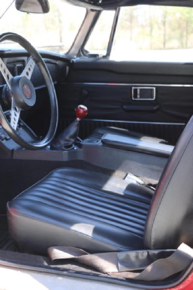 1972 MGB CLASSIC CONVERTIBLE ROADSTER - 9