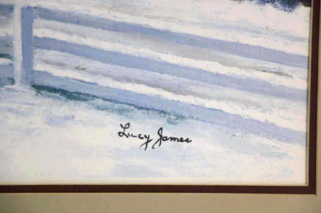 LUCY JAMES WINTER OLD SALEM LANDSCAPE - 3