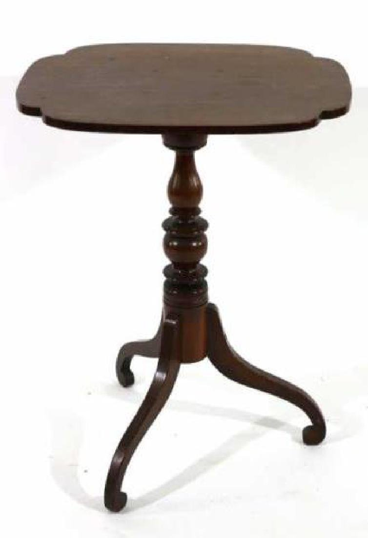 AMERICAN ANTIQUE TRIPOD TABLE - 2