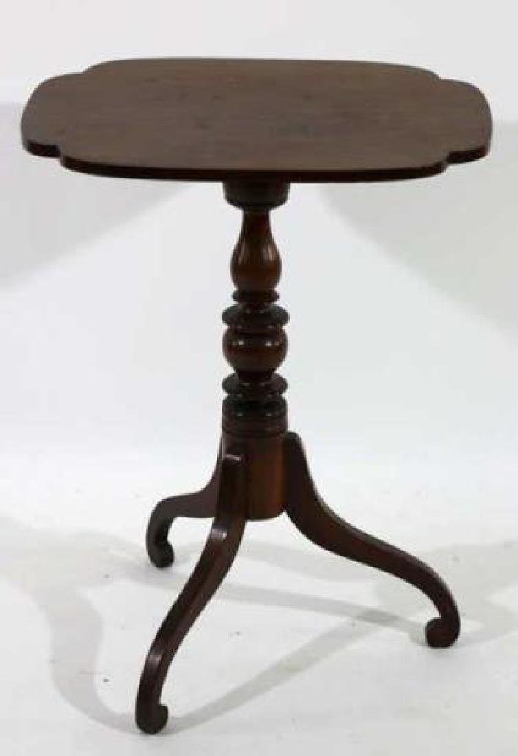 AMERICAN ANTIQUE TRIPOD TABLE - 4