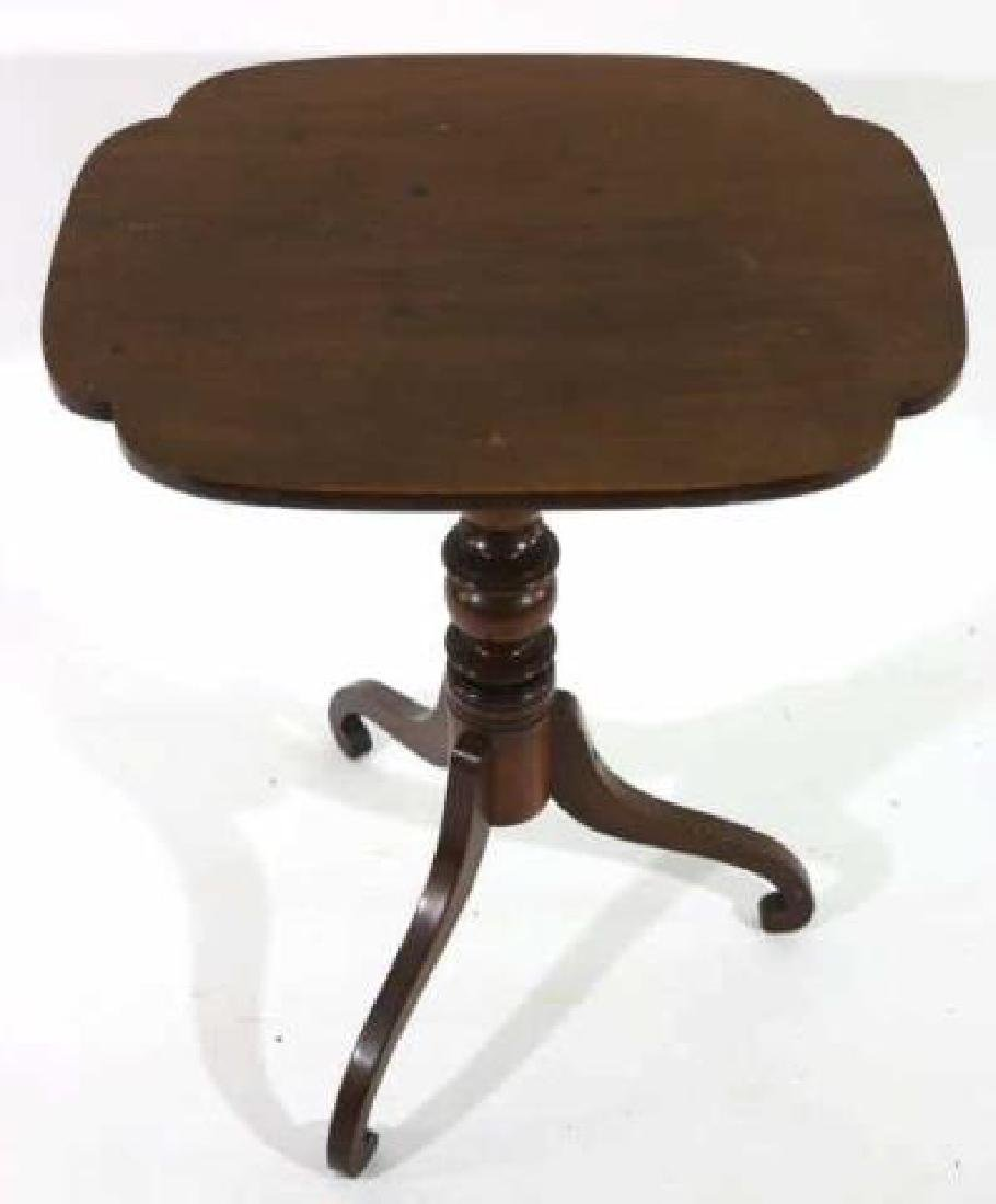 AMERICAN ANTIQUE TRIPOD TABLE - 5