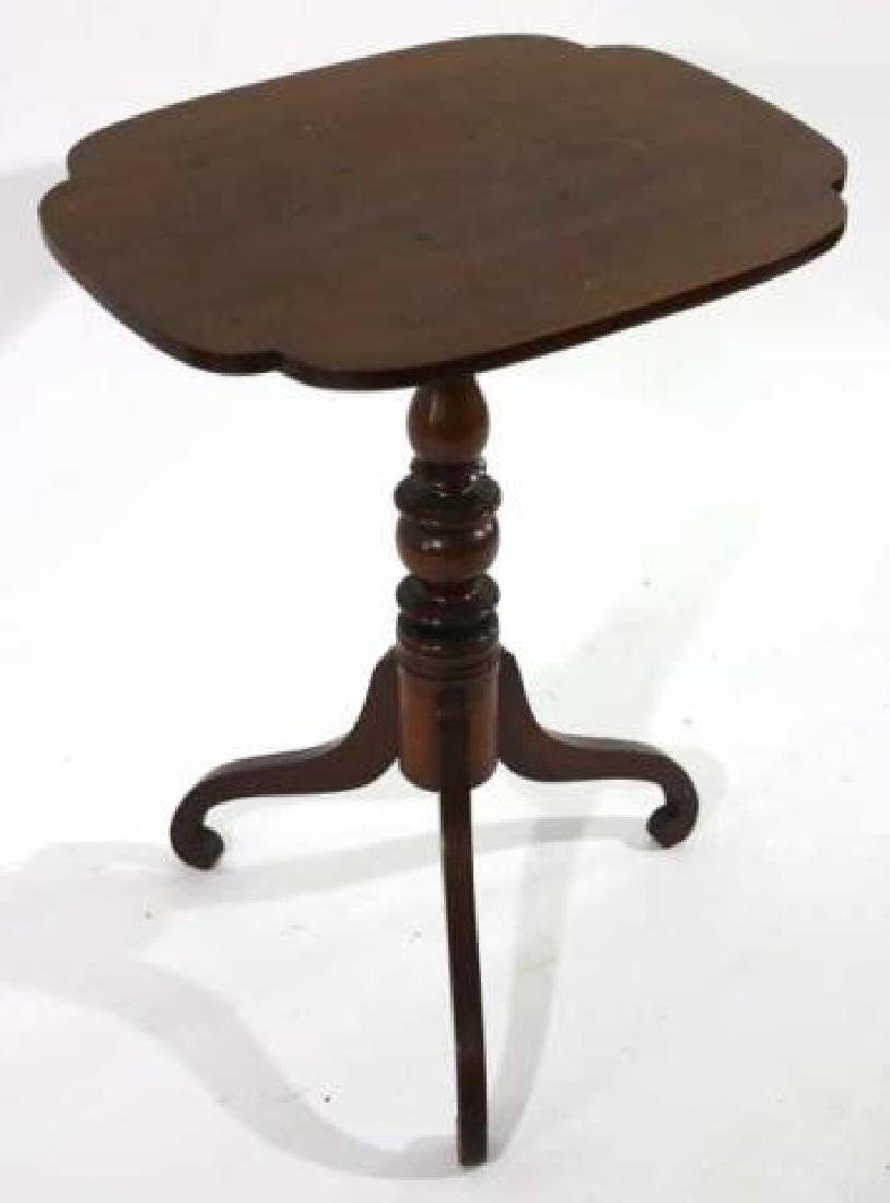 AMERICAN ANTIQUE TRIPOD TABLE - 6