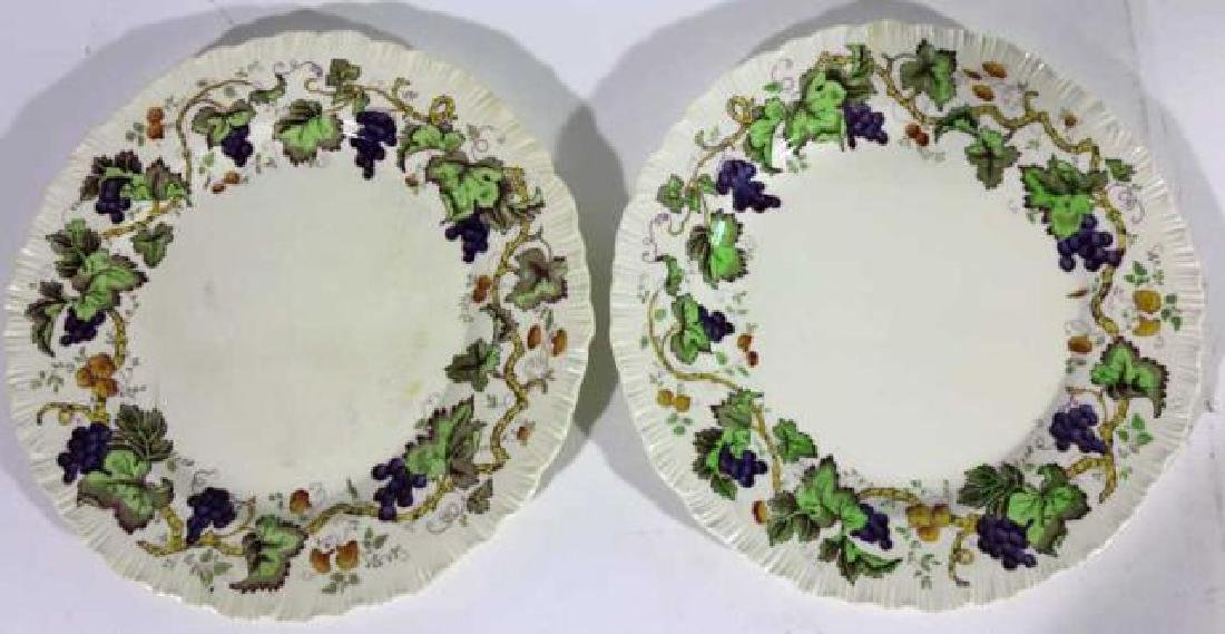 "WEDGWOOD ""ETRURIA"" ENGLISH CABINET PLATES"