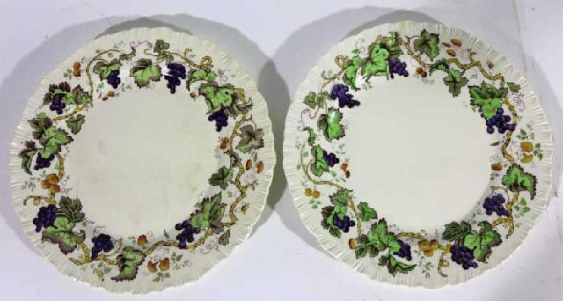"WEDGWOOD ""ETRURIA"" ENGLISH CABINET PLATES - 6"