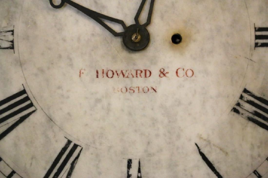 E. HOWARD & COMPANY BOSTON MARBLE HANGING CLOCK - 3