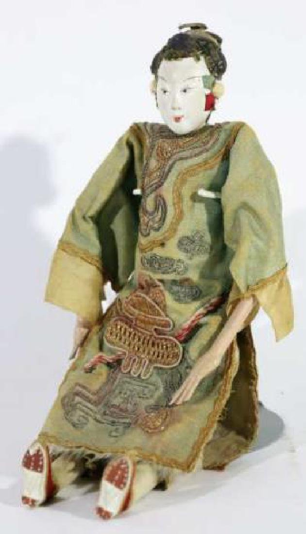 JAPANESE ANTIQUE PORCELAIN DOLL