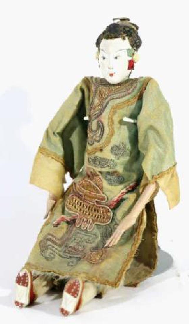 JAPANESE ANTIQUE PORCELAIN DOLL - 4