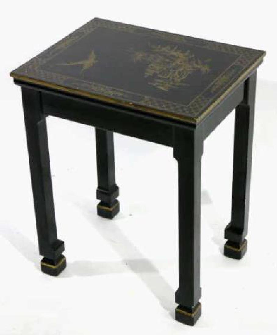 JAPANESE FINE LACQURED ASIAN SIDE TABLE