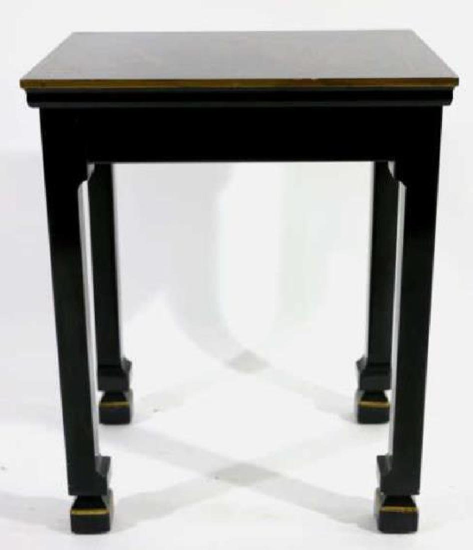 JAPANESE FINE LACQURED ASIAN SIDE TABLE - 3