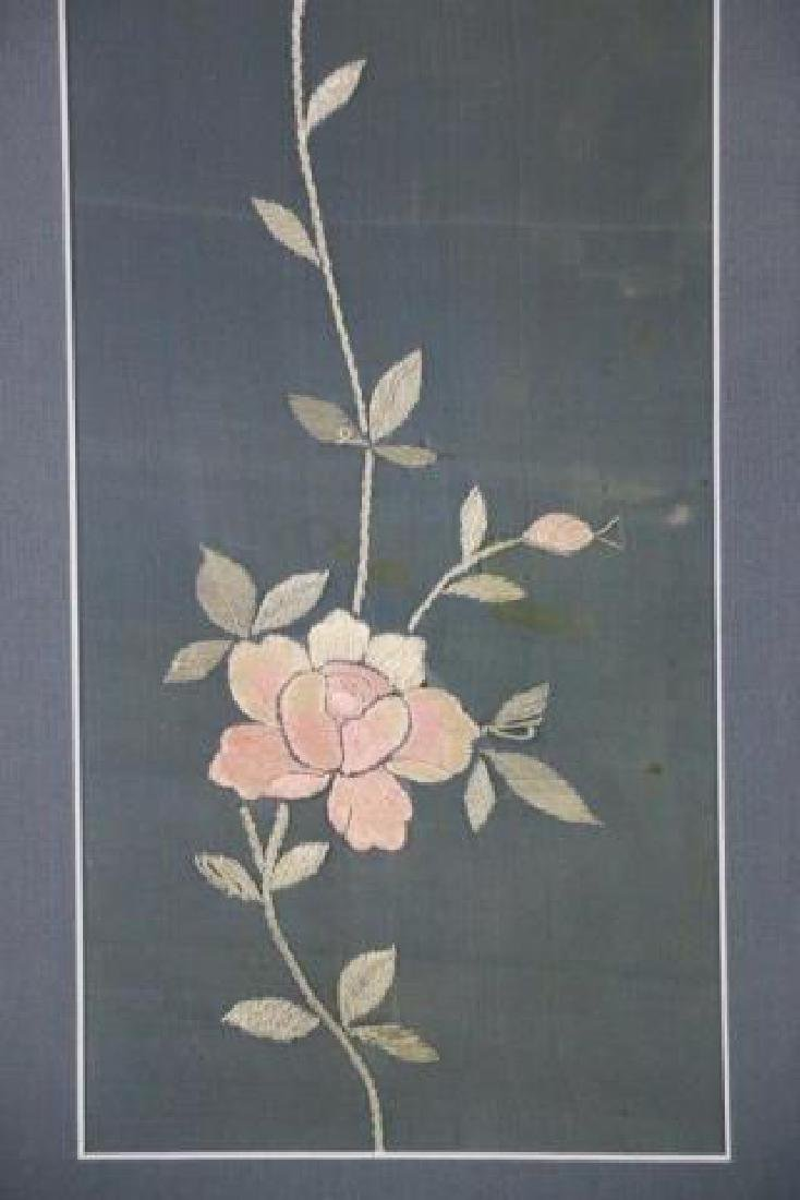 ASIAN BOTANICAL NEEDLEWORKS ON SILK - 2