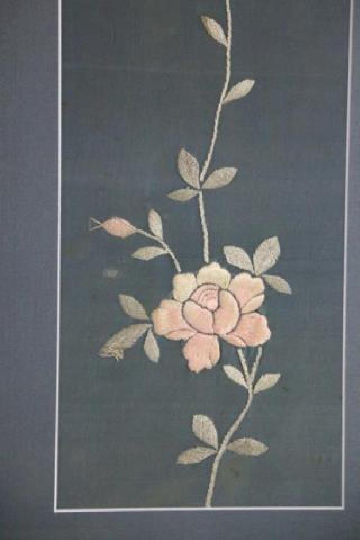 ASIAN BOTANICAL NEEDLEWORKS ON SILK - 3