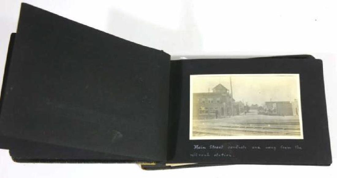 ANTIQUE FAMILY PHOTO ALBUM