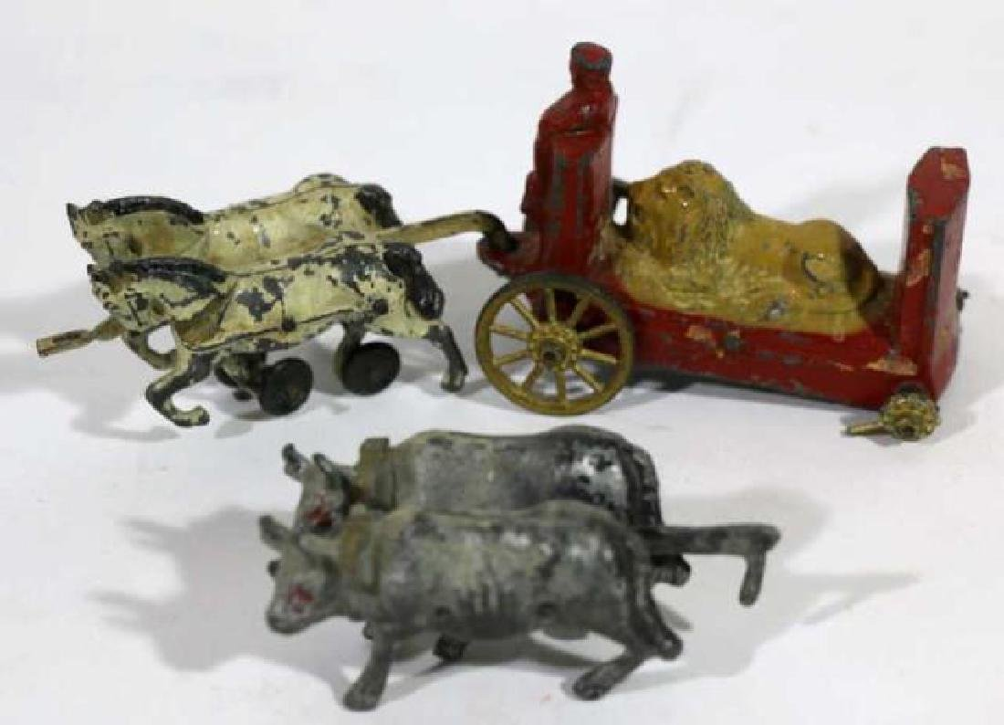 ANTIQUE LEAD TOY GROUPING - 3