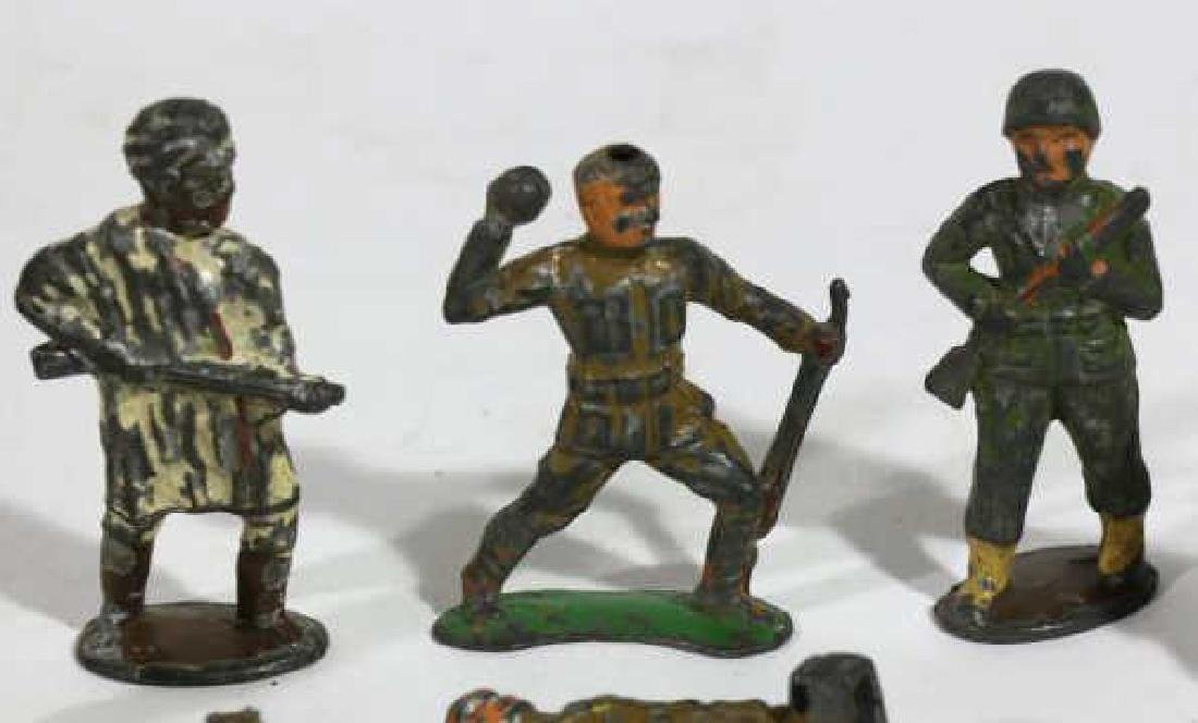 ANTIQUE LEAD SOLDIER TOY GROUPING - 3